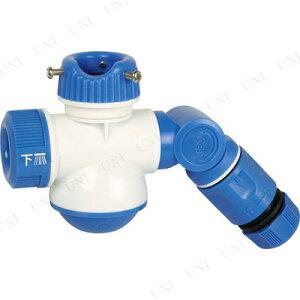 【取寄品】 TRUSCO シャワー付き分岐蛇口ダブルポート 【 清掃用品 掃除道具 ホース器具 】