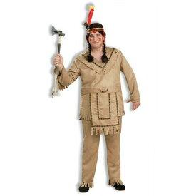 !! ネイティブアメリカン Plus Size 【 仮装 コスプレ ハロウィン 余興 大人 民族衣装 大きいサイズ メンズ 大人用 コスチューム 伝統衣装 男性用 インディアン パーティーグッズ 】