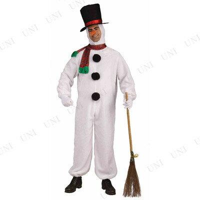 あす楽対応 送料無料 スノーマンコスチューム メンズ ウケる 雪だるま 面白 衣装 笑える 大人用 仮装