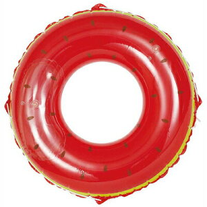 浮き輪 120cm スイカ 【 海水浴 グッズ 特大 プール うきわ ビーチグッズ 浮き輪 大人 大人用 浮輪 プール用品 水遊び用品 ウキワ 水物 ビッグサイズ 大きい 101cm〜120cm 】