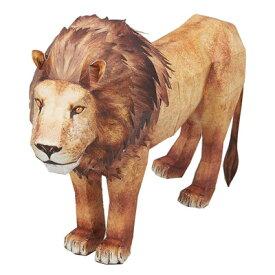 【あす楽12時まで】 !! ペーパークラフト ハッピーペーパー ライオン 【 玩具 オモチャ おもちゃ 】