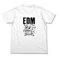 ポプテピピックポプ子EDMTシャツホワイトL