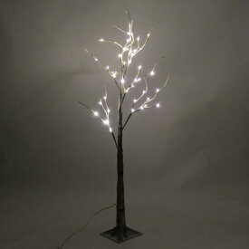 ブランチツリー 120cm ホワイト 【 パーティーグッズ 飾り 置物 ライト付き デコレーション 装飾 雑貨 ツリーオブジェ クリスマス飾り クリスマスパーティー クリスマスツリー 】
