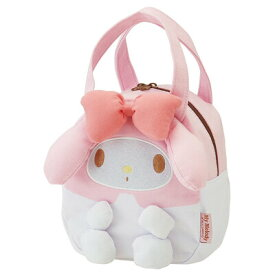 【取寄品】 スウェット素材ダイカットバッグ マイメロディ 【 鞄 キャラクター カバン かばん ファッションバッグ 】