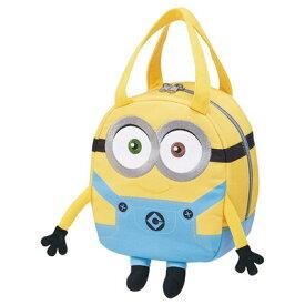 【取寄品】 スウェット素材ダイカットバッグ ミニオンズ 【 ファッションバッグ キャラクター 鞄 カバン かばん 】