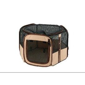 【取寄品】 リッチェル たためるペットサークル 75-75 茶 【 ケージ いぬ イヌ 犬用品 ペット用品 ペットグッズ 】