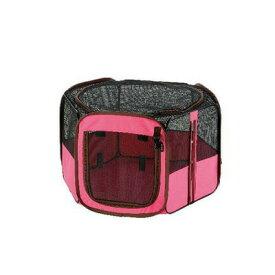 【取寄品】 リッチェル たためるペットサークル 75-75 ピンク 【 ペットグッズ いぬ ケージ ペット用品 犬用品 イヌ 】