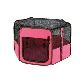 【取寄品】 リッチェル たためるペットサークル 90-90 ピンク 【 ペット用品 ケージ イヌ ペットグッズ いぬ 犬用品 】