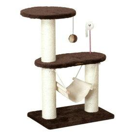 【取寄品】 スクラッチリビング コンパクトハンモック 【 キャットタワー 玩具 ネコ 据え置き型 オモチャ ペットグッズ 猫用品 ペット用品 おもちゃ 遊具 ねこ 】