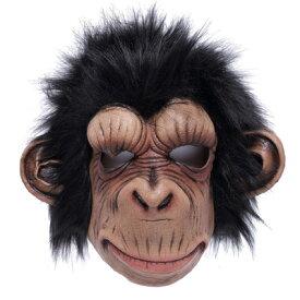 コスプレ 仮装 Uniton ホラーマスク チンパンジー 【 コスプレ 衣装 ハロウィン パーティーグッズ おもしろ かぶりもの 怖い マスク 動物 おもしろマスク アニマルマスク プチ仮装 面白マスク 動物マスク 変装グッズ ハロウィン 衣装 】