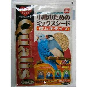 【取寄品】 クオリス ミックスシード 皮ムキ 3.6kg 【 えさ ペット用品 鳥の餌 鳥用品 エサ ペットグッズ 】