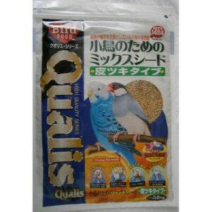 【取寄品】 クオリス ミックスシード 皮ツキ 3.6kg 【 エサ 鳥用品 鳥の餌 ペット用品 えさ ペットグッズ 】