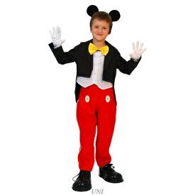【あす楽12時まで】 子ども用ミッキーマウスS 【 仮装 衣装 コスプレ ハロウィン コスチューム 子供 キッズ 子ども用 アニメ ディズニー 男の子 ミッキーマウス 子供用 パーティーグッズ 正規ライセンス品 公式 こども 】