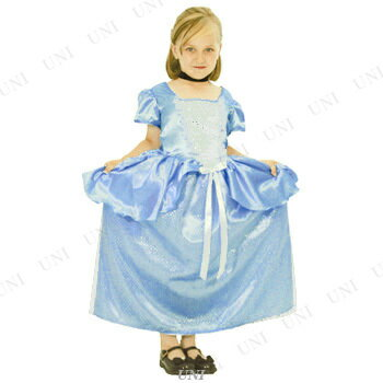 シンデレラドレス 子供用 S ハロウィン 衣装 子供 仮装衣装 コスプレ コスチューム 子ども用 キッズ こども パーティーグッズ ディズニー 公式 正規ライセンス品 童話 おとぎ話 女の子