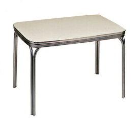 【送料無料】 ダイナーテーブル DINNER TABLE Ivory 【 インテリア おしゃれ 家具 リビング カフェテーブル ダイニングテーブル 食卓テーブル リビングテーブル リビング家具 】