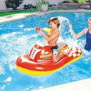・BESTWAY 41071 ジェットスキーライドオン レッド 140cm プール用品 ビーチグッズ 海水浴 水物 フロート 水遊び用品