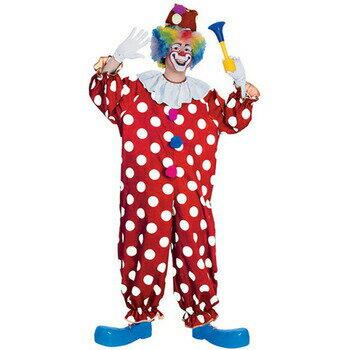 【あす楽12時まで】 ドットピエロスーツ(Dotted Clown) 【 コスプレ 衣装 ハロウィン 仮装 大人 服 レディース メンズ ピエロ ピエロ服 パーティーグッズ 大人用 ピエロ衣装 男女兼用 道化師 ぴえろ クラウン 女性用 ピエロコスチューム 男性用 】