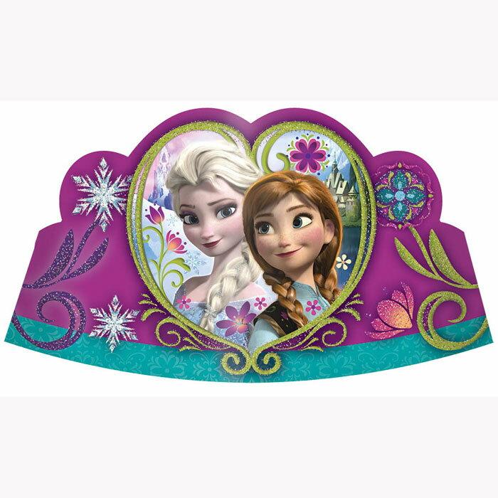 ペーパーティアラ ディズニーフローズン(誕生日)(バースデー)(パーティー)(frozen)(アナ雪)(エルサ)【PG250313】