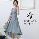 ドレス 結婚式 ワンピース パーティードレス フォーマルドレス お呼ばれ 服装 大きいサイズ フォーマル 大人 ミセス …