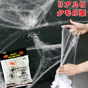 ハロウィン 飾りつけ スパイダーウェブ クモフィギュア3個付き 本格的なクモの巣かざり 店舗装飾 壁デコレーション 【…