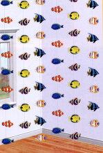 【サマーデコレーション】コーラルリーフストリングデコ★夏物装飾【魚/フィッシュ/飾り/楽ギフ_メッセ】