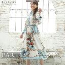 [ 選べる福袋 ][ リンファーレ ] ビジューブラウス スカーフプリント フレアスカート セットアップ ツーピース | あす…