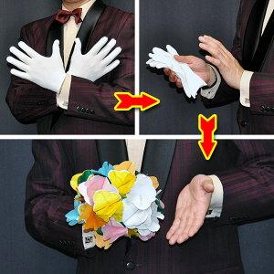 ◆マジック・手品◆DPG 花束と白い手袋◆T7211