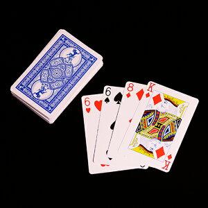 ◆マジック・手品◆ジャンボ トランプと新聞紙◆D6941