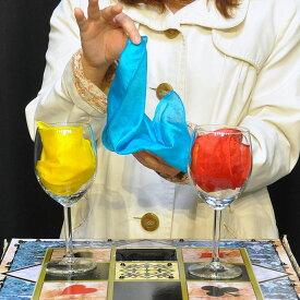 ◆マジック・手品◆飛び込むシルク(特上品)◆S8991