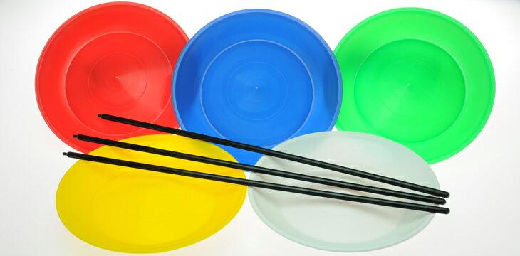 ●ジャグリング関連●スピニングプレート(皿回し)●44007023