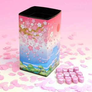 ◆マジック・手品◆PRD.チューブ 富士と桜(桜吹雪付)◆K6340