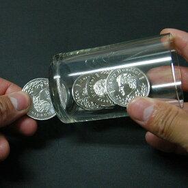 ◆マジック・手品◆エクスパンデットシェルコイン◆O2102A