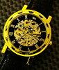 ★ 點腕表 Homberger (Homberger) 天然金剛石經典雙骨架手錶 10P19Dec15