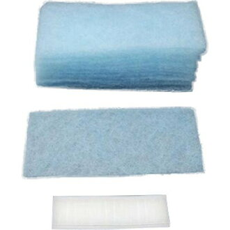 *4 set of entering 15 pieces of dustpan blue filters for the drum-type washing machine