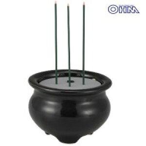 OHM LED電池式線香 LED-DCSK-1 04-0336【割引不可・返品キャンセル不可】
