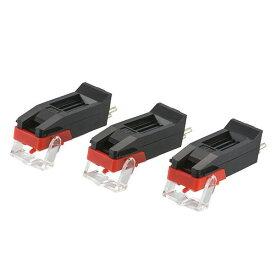 オーム電機 レコード交換針 3本入 RDP-B001N【割引不可・返品キャンセル不可】