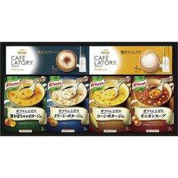 味の素 ギフトレシピクノールスープ&コーヒーギフト B3071044【取り寄せ品キャンセル返品不可、割引不可】