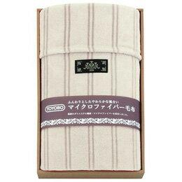 東洋紡 マイクロファイバー毛布 B3129015【取り寄せ品キャンセル返品不可、割引不可】