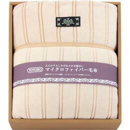 東洋紡 マイクロファイバーわた入り毛布 L2192025【取り寄せ品キャンセル返品不可、割引不可】