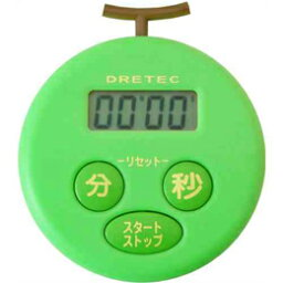 DRETEC廚房計時器哈密瓜T-168GN