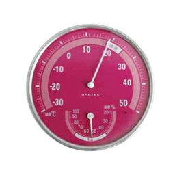 在乍一看明白作為DRETEC溫濕度計舒適的溫度、濕度的優秀適當溫度濕度範圍表示O-310PK