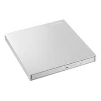 IO데이터 DVRP-UT8C2W USB 3.0/2. 0 대응 버스 파워 구동 휴대용 DVD 드라이브 펄 화이트