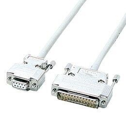 サンワサプライ RS-232Cケーブル KRS-423XF5N【取り寄せ品キャンセル返品不可、割引不可】