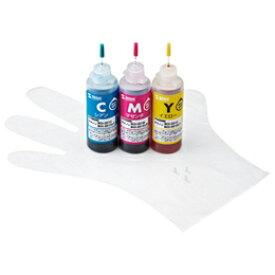 サンワサプライ 詰め替えインクBCI-351C・M・Y用 INK-C351S60【取り寄せ品キャンセル返品不可、割引不可】