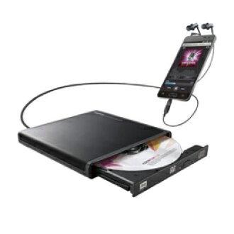 로지텍 Android용 CD녹음 드라이브/USB2. 0/Type-C변환 어댑터 부속/블랙 LDR-PMJ8U2RBK