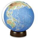 【大感謝価格 】昭和カートン 無軸台座式地球儀 地勢図タイプ 26-TBP-OP 直径26×高さ30cm 450g