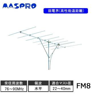 FM antenna FM8 for the Maspro Denkoh high efficiency long distance