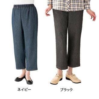 엉덩이 스룩과 데님 팬츠 부인(밑아래 60 cm) 89396 11・블랙・M