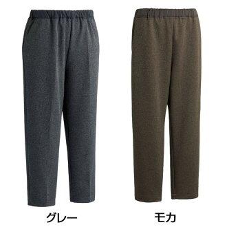 엉덩이 스룩과 양이온 팬츠(부인) 89209 01・모카・M