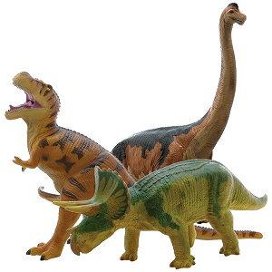 大感謝価格『ビニールモデル人気恐竜3体セット FDS-0002 70639-70640-70670』『メーカー直送品。代引不可・同梱不可・返品キャンセル・割引不可』